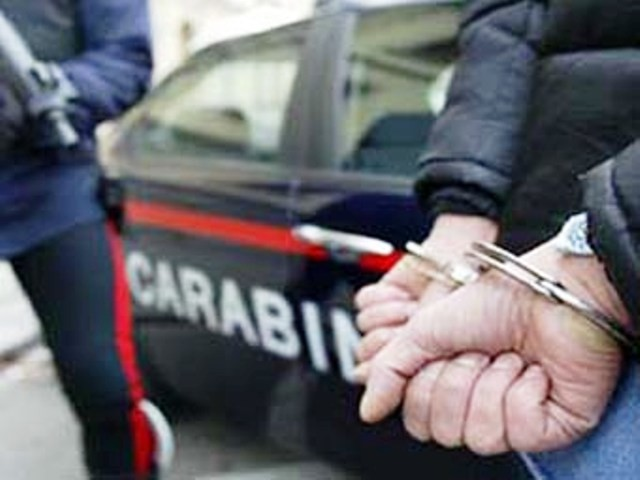 Arresto dei Carabinieri