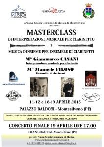 MASTERCLASS CLARINETTI