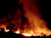 Chieti - discarica incendio