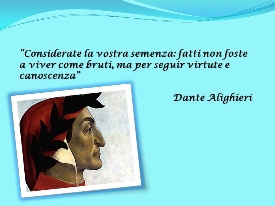 Andare E Conoscere Con Dante