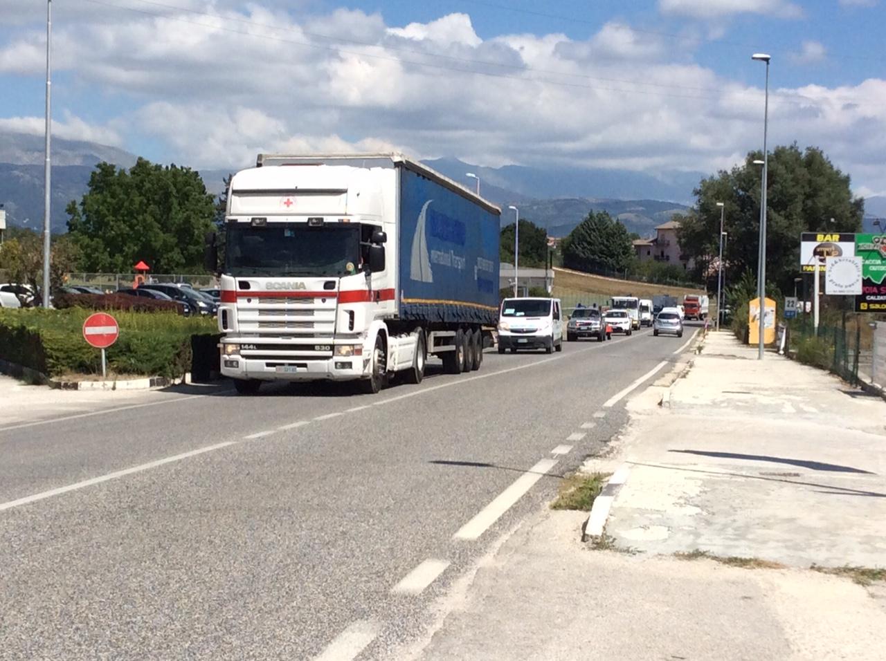 Colonna Mobile Protezione Civile Abruzzo 3