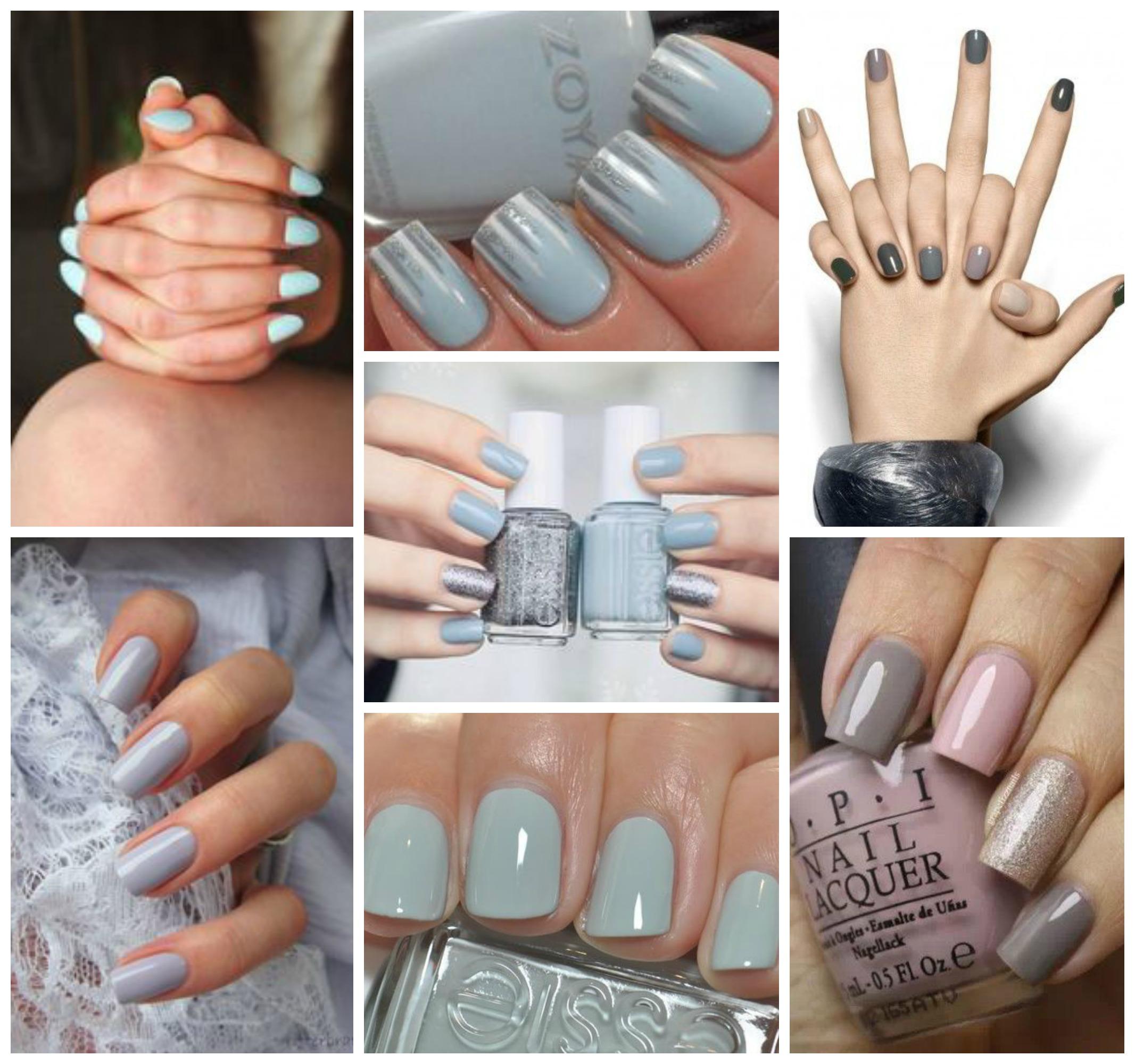 azzurro e grigio