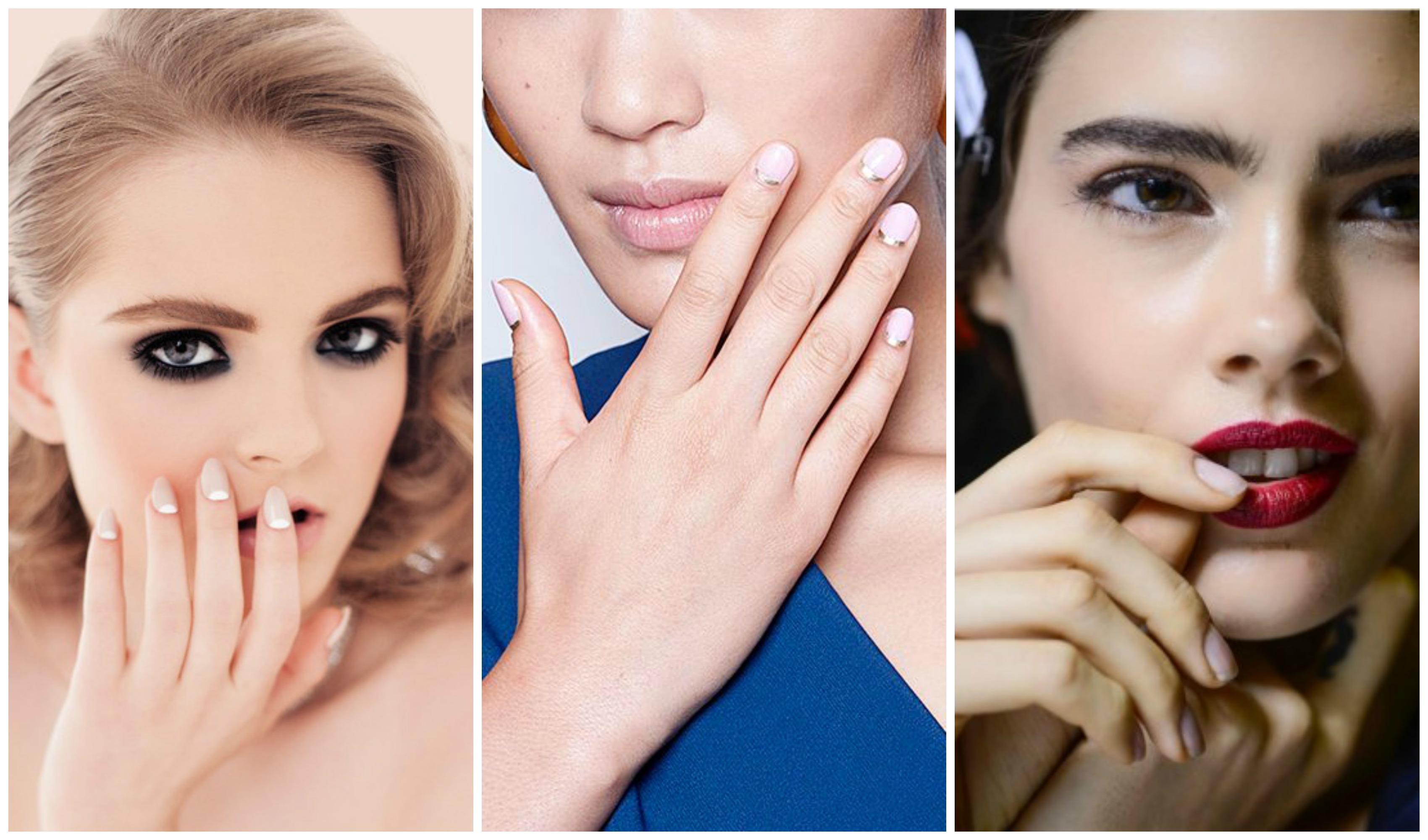 manicure nude prima foto