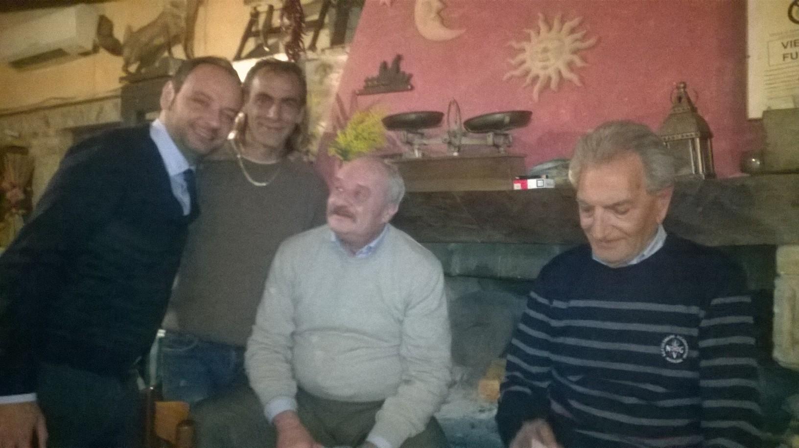 I Caminetti dei Club Forza Silvio